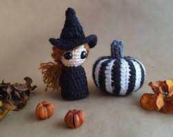 Witch Home Decor Witch Amigurumi Etsy