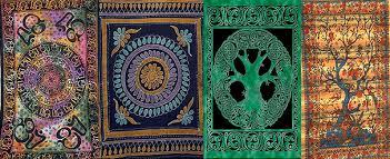 Black Light Rug Mandala Psychedelic Excursion Art P 5 U0027x7 U0027area Rug Psychedelic
