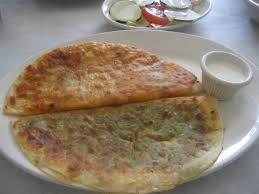 ramadan cuisine favorite recipes for ramadan afghani bolani stuffed fried bread