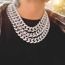 link choker necklace images Diamond cuban link choker 19mm in white gold the gld shop JPG