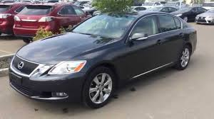 lexus sedan gs pre owned grey 2010 lexus gs 350 awd ultra premim package review