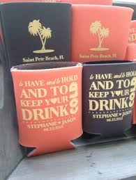 totally wedding koozies coupon code to and to hold and keep your cold wedding can coolers