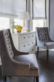 bay window bedroom furniture chic bedroom bay window is filled with a white french chest topped