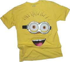 minion halloween shirt amazon com minion big face despicable me t shirt movie