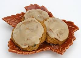 maple frosting pumpkin cookies with maple icing glorious treats