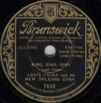 sing sing sing with a swing louis prima sing sing sing with a swing