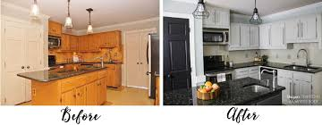 Painting Kitchen Backsplash Affordable Diy Kitchen Renovation Ideas Designer Trapped