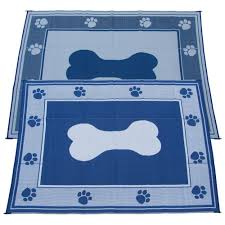 Polypropylene Rugs Outdoor by Fireside Patio Mats Doggy Blue 9 Ft X 12 Ft Polypropylene Indoor