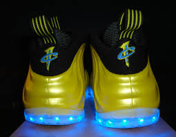 galaxy shoes light up nike air foosite one electrolime light up customs available