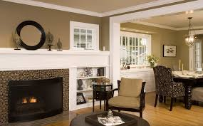 warm tan paint colors living room contemporary with gray sofa