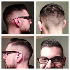 another classic prohibition era haircut with a slightly modern
