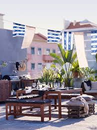 Ikea Backyard Furniture A Blue Summer With Ikea U2013 2016 Outdoor Collection The Style