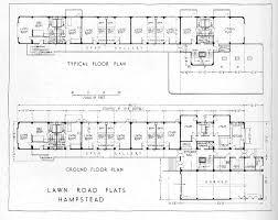 Floor Plan View Wells Coates Lawn Road Flats