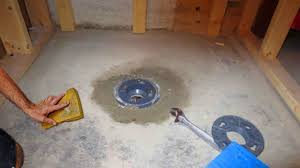 Basement Drain Cover Replacement by How To Install A Shower Pan 10 Steps With Pictures Wikihow