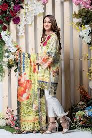 summer style capri ethnic outfitters lawn collection 2017 capri kurti formal embroidery