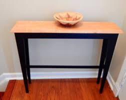 entry hall table etsy