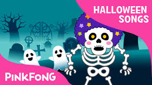 the skeleton band halloween songs pinkfong songs for children