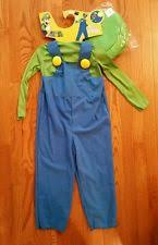 Toddler Luigi Halloween Costume Toddler Mario Costume Ebay