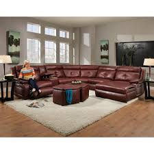 Reclining Sectional Sofas by Southern Motion Dash Contemporary Styled Reclining Sectional Sofa