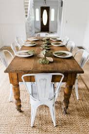 dining room farmhouse chic dining room table design accommodated