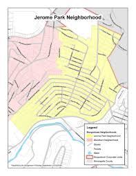 Denver Neighborhoods Map Jerome Park Neighborhood Association Morgantown Wv