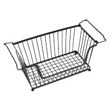 modular wire stacking bin basket rack 48quotw x 20quotd x 51quoth