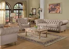 furniture shantoria formal living room set in beige