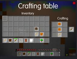 How To Make A Crafting Table How Can I Craft A Sword In Mine Blocks Game Arqade