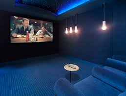 movie themed family rooms interior home theater room design plans