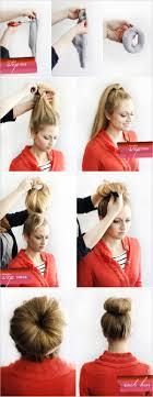 fan and sock bun hair tutorial video dailymotion nina dobrev messy bun hair tutorial by meghan rosette tutorial