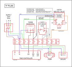 wiring diagram for honeywell room stat boiler lovely diagrams