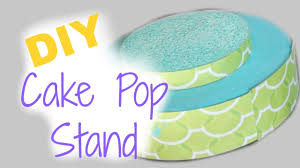 cake pop stands diy birthday bash cake pop stand mickisamom