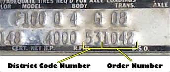 decoding your 1968 ford truck vin fordification com