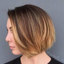 honey brown haie carmel highlights short hair 40 on trend balayage short hair looks