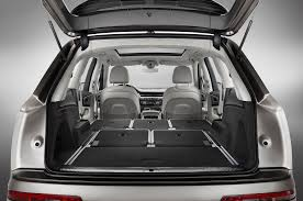 audi q7 cargo capacity 2017 audi q7 second drive review motor trend