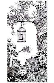 animals bird butterfly insects coloring pages adults