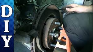 front brake pads and rotors replacement 2006 mitsubishi