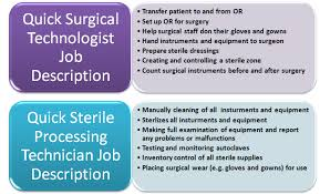 Job Description Of A Phlebotomist On Resume by Surgical Tech Vs Sterile Processing Technician Surgical Tech