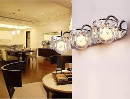 Crystal Bathroom Mirror Led Crystal Lighting K9 Bathroom Mirror Lights Wall Lamp Simple