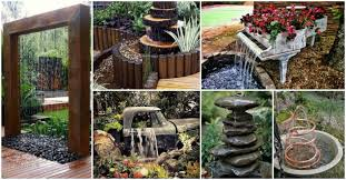 Diy Patio Fountain Garden Decor Archives Page 5 Of 6 My Amazing Things