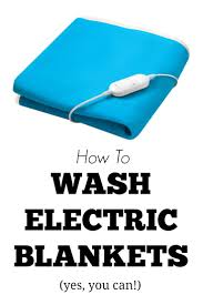 How To Wash A Polyester Comforter How To Wash Electric Blankets Housewife How To U0027s