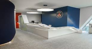 chambre psg reception of psg s offices in boulogne leisure tourism