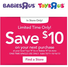 expired toys r us mobile coupon 10 00 10 00 purchase