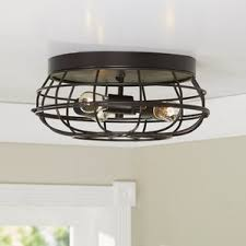 Ceiling Flush Mount by Flush Mount Lighting You U0027ll Love Wayfair