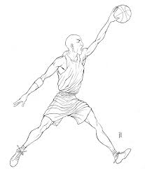 michael jordan coloring pages chuckbutt com