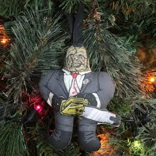 gift guide horror tree ornaments horror