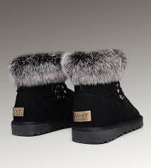 ugg s nightfall boots dakota uggs slippers on sale ugg fox fur mini boots 5859 black