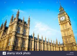 les chambres du soleil vue panoramique lumineux de big ben et les chambres du parlement de