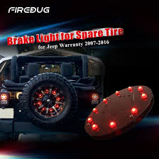 ebay jeep wrangler accessories firebug jeep wrangler 3rd brake light spare tire led light jeep