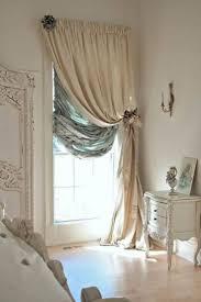 bedroom drapery panels roller shades roman shades door window